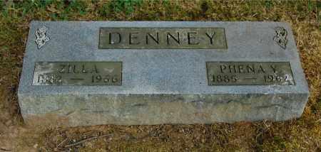 DENNEY, ZILLA - Gallia County, Ohio | ZILLA DENNEY - Ohio Gravestone Photos