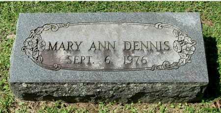 DENNIS, MARY ANN - Gallia County, Ohio | MARY ANN DENNIS - Ohio Gravestone Photos