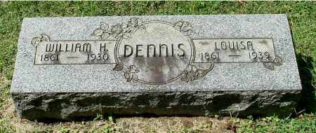 HAMILTON DENNIS, LOUISA - Gallia County, Ohio | LOUISA HAMILTON DENNIS - Ohio Gravestone Photos