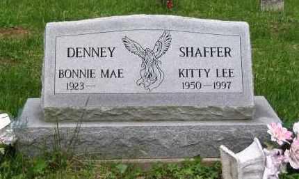 DENNY, BONNIE MAE - Gallia County, Ohio | BONNIE MAE DENNY - Ohio Gravestone Photos
