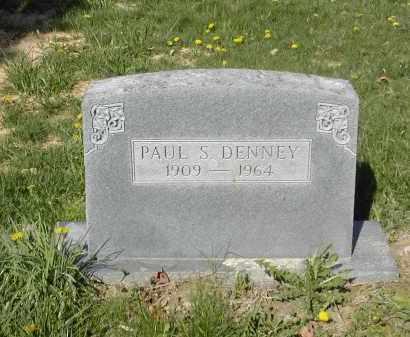 DENNEY, PAUL S. - Gallia County, Ohio | PAUL S. DENNEY - Ohio Gravestone Photos