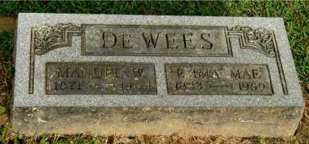 DEWEES, EMMA MAE - Gallia County, Ohio | EMMA MAE DEWEES - Ohio Gravestone Photos