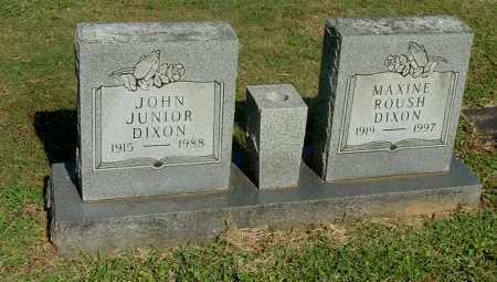 DIXON, JOHN JUNIOR - Gallia County, Ohio | JOHN JUNIOR DIXON - Ohio Gravestone Photos