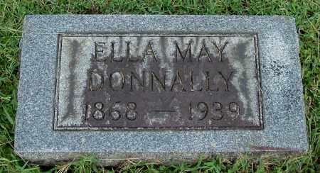 LEONARD DONNALLY, ELLA MAY - Gallia County, Ohio   ELLA MAY LEONARD DONNALLY - Ohio Gravestone Photos