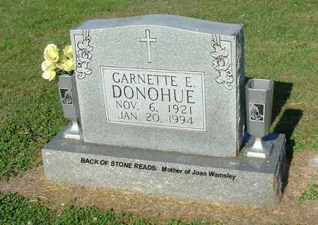DONOHUE, GARNETTE E - Gallia County, Ohio   GARNETTE E DONOHUE - Ohio Gravestone Photos