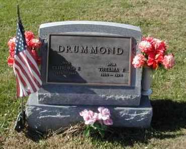 DRUMMOND, CLIFFORD F. - Gallia County, Ohio | CLIFFORD F. DRUMMOND - Ohio Gravestone Photos