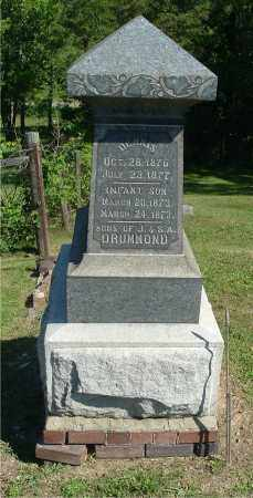DRUMMOND, INFANT SON - Gallia County, Ohio | INFANT SON DRUMMOND - Ohio Gravestone Photos