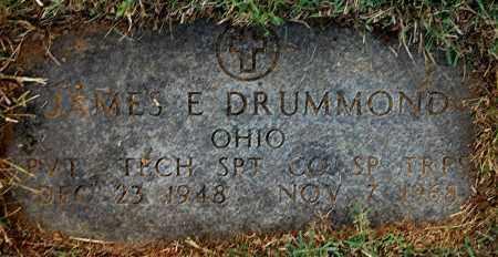 DRUMMOND, JAMES E - Gallia County, Ohio | JAMES E DRUMMOND - Ohio Gravestone Photos