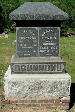 DRUMMOND, JOSEPHUS - Gallia County, Ohio | JOSEPHUS DRUMMOND - Ohio Gravestone Photos