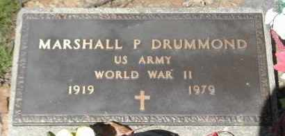 DRUMMOND, MARSHALL P. - Gallia County, Ohio | MARSHALL P. DRUMMOND - Ohio Gravestone Photos