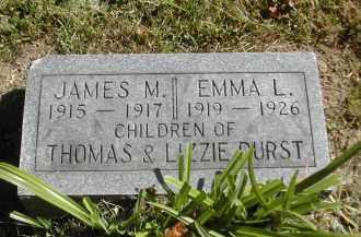 DURST, EMMA - Gallia County, Ohio | EMMA DURST - Ohio Gravestone Photos