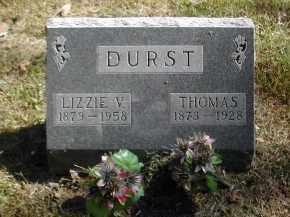 DURST, LIZZIE - Gallia County, Ohio   LIZZIE DURST - Ohio Gravestone Photos