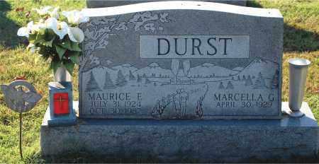 DURST, MAURICE E - Gallia County, Ohio   MAURICE E DURST - Ohio Gravestone Photos