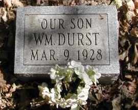 DURST, WILLIAM - Gallia County, Ohio | WILLIAM DURST - Ohio Gravestone Photos