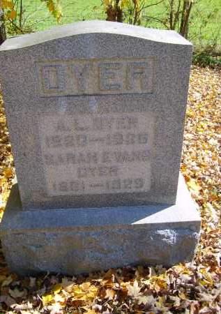 DYER, A. - Gallia County, Ohio | A. DYER - Ohio Gravestone Photos