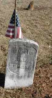 DYER, ISSAC - Gallia County, Ohio | ISSAC DYER - Ohio Gravestone Photos