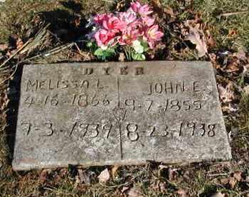 DYER, JOHN E. - Gallia County, Ohio | JOHN E. DYER - Ohio Gravestone Photos