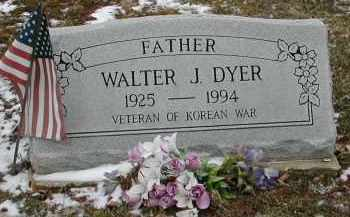 DYER, WALTER J. - Gallia County, Ohio | WALTER J. DYER - Ohio Gravestone Photos