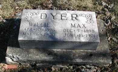 DYER, MAX - Gallia County, Ohio   MAX DYER - Ohio Gravestone Photos