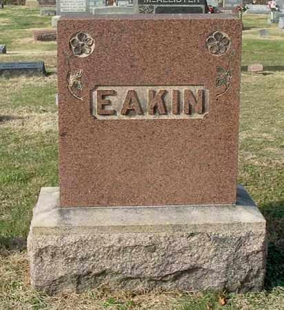 EAKIN, FAMILY MONUMENT - Gallia County, Ohio | FAMILY MONUMENT EAKIN - Ohio Gravestone Photos