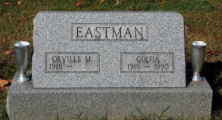 EASTMAN, ORVILLE M. - Gallia County, Ohio   ORVILLE M. EASTMAN - Ohio Gravestone Photos