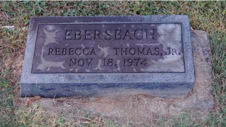 EBERSBACH, REBECCA - Gallia County, Ohio | REBECCA EBERSBACH - Ohio Gravestone Photos