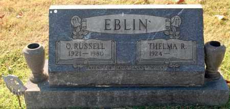 EBLIN, RUSSELL - Gallia County, Ohio   RUSSELL EBLIN - Ohio Gravestone Photos