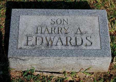 EDWARDS, HARRY A - Gallia County, Ohio | HARRY A EDWARDS - Ohio Gravestone Photos