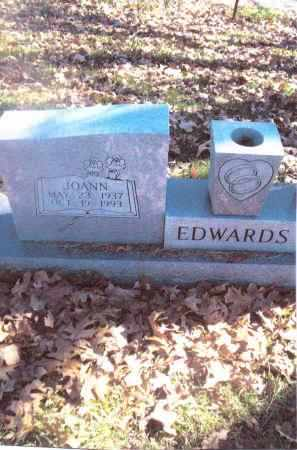 EDWARDS, JOANN - Gallia County, Ohio | JOANN EDWARDS - Ohio Gravestone Photos
