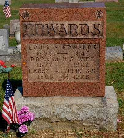 EDWARDS, HARRY A - Gallia County, Ohio | HARRY A EDWARDS - Ohio Gravestone Photos