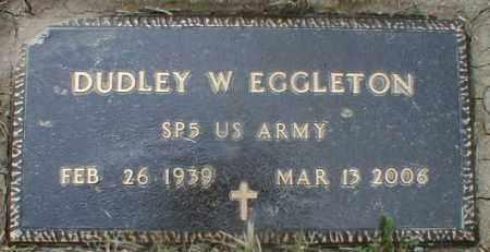 EGGLETON, DUDLEY - Gallia County, Ohio | DUDLEY EGGLETON - Ohio Gravestone Photos