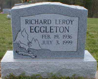 EGGLETON, RICHARD - Gallia County, Ohio | RICHARD EGGLETON - Ohio Gravestone Photos
