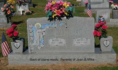 ELKINS, BOBBY L - Gallia County, Ohio | BOBBY L ELKINS - Ohio Gravestone Photos