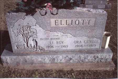 ELLIOTT, LE ROY - Gallia County, Ohio | LE ROY ELLIOTT - Ohio Gravestone Photos