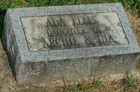 ELLIS, ADA - Gallia County, Ohio | ADA ELLIS - Ohio Gravestone Photos