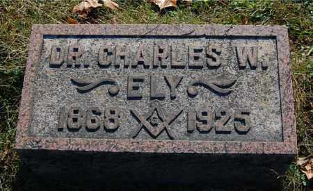ELY, CHARLES W (DR.) - Gallia County, Ohio | CHARLES W (DR.) ELY - Ohio Gravestone Photos