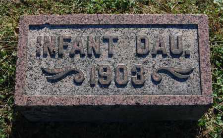 ELY, INFANT DAU (CHARLES) - Gallia County, Ohio   INFANT DAU (CHARLES) ELY - Ohio Gravestone Photos