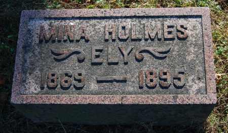 ELY, MINA - Gallia County, Ohio   MINA ELY - Ohio Gravestone Photos