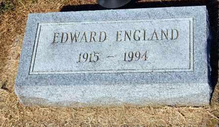 ENGLAND, EDWARD - Gallia County, Ohio | EDWARD ENGLAND - Ohio Gravestone Photos