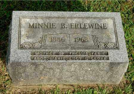 ERLEWINE, MINNIE B - Gallia County, Ohio | MINNIE B ERLEWINE - Ohio Gravestone Photos