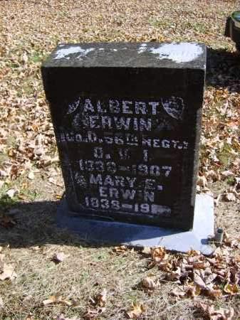 ERWIN, MARY E. - Gallia County, Ohio | MARY E. ERWIN - Ohio Gravestone Photos