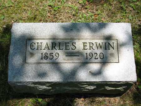 ERWIN, CHARLES - Gallia County, Ohio | CHARLES ERWIN - Ohio Gravestone Photos
