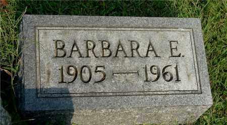 EVANS, BARBARA E - Gallia County, Ohio | BARBARA E EVANS - Ohio Gravestone Photos