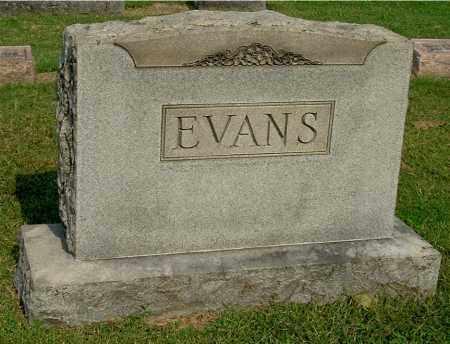 EVANS, FAMILY MONUMENT - Gallia County, Ohio   FAMILY MONUMENT EVANS - Ohio Gravestone Photos