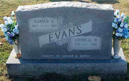 EVANS, HAROLD O. - Gallia County, Ohio | HAROLD O. EVANS - Ohio Gravestone Photos