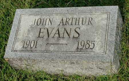 EVANS, JOHN ARTHUR - Gallia County, Ohio | JOHN ARTHUR EVANS - Ohio Gravestone Photos