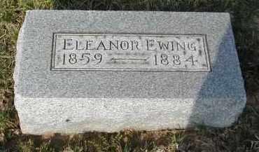 EWING, ELEANOR - Gallia County, Ohio   ELEANOR EWING - Ohio Gravestone Photos