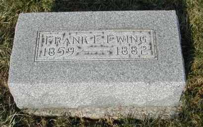 EWING, FRANK - Gallia County, Ohio | FRANK EWING - Ohio Gravestone Photos