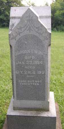 EWING, JORDAN - Gallia County, Ohio   JORDAN EWING - Ohio Gravestone Photos