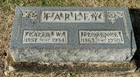 FARLEY, CALEB W - Gallia County, Ohio | CALEB W FARLEY - Ohio Gravestone Photos